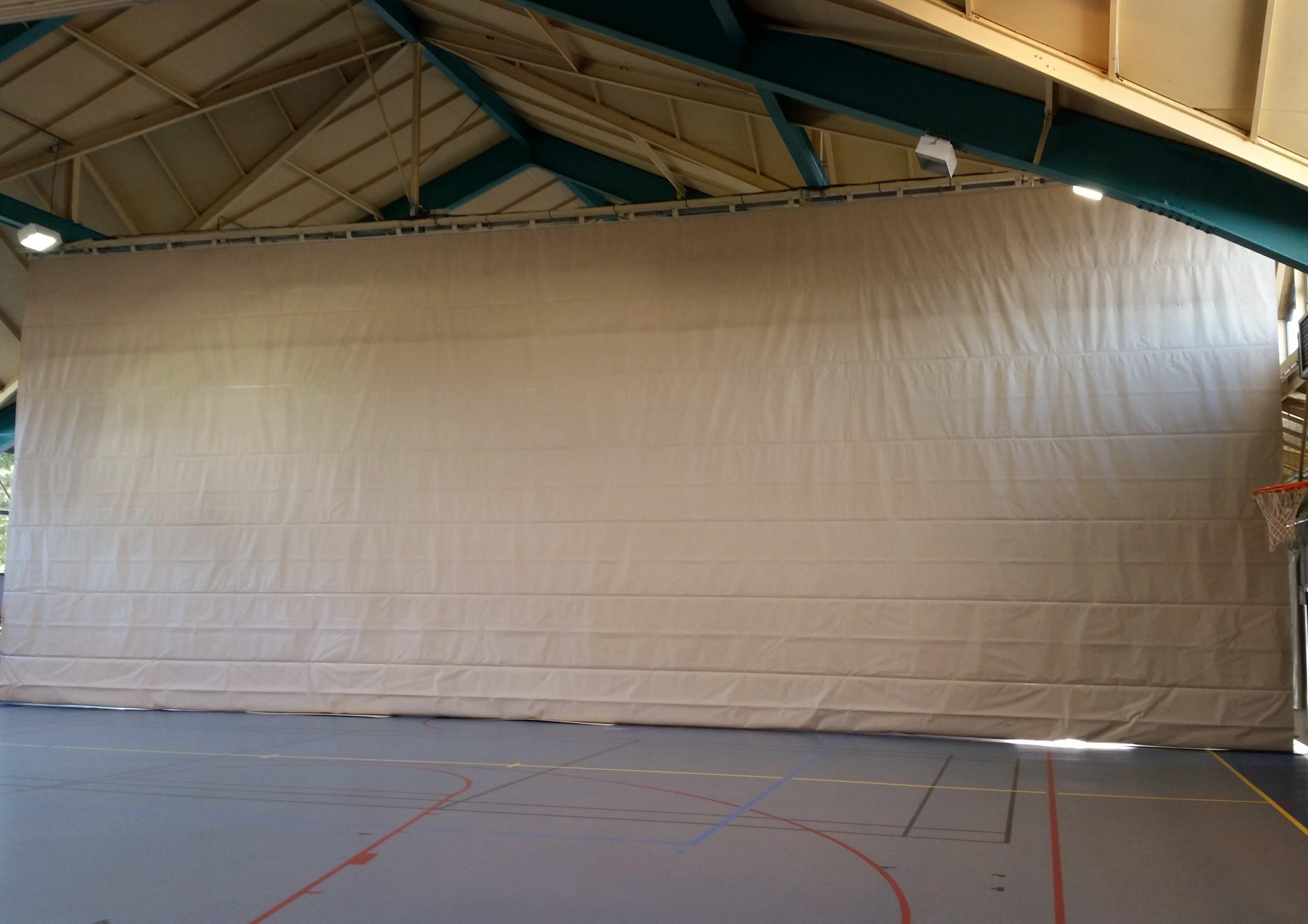 Rideau De Separation De Salle De Sport Mko Services Eurl